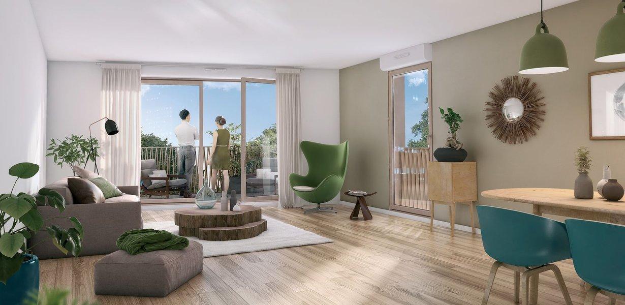 Appartements neufs Bussy-saint-georges - Le Clos Des Ormes