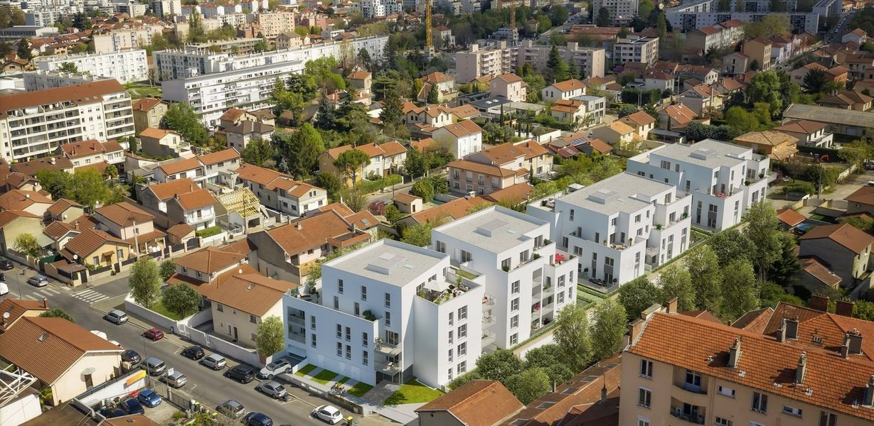 Maisons et appartements neufs Villeurbanne - Idylle En Ville