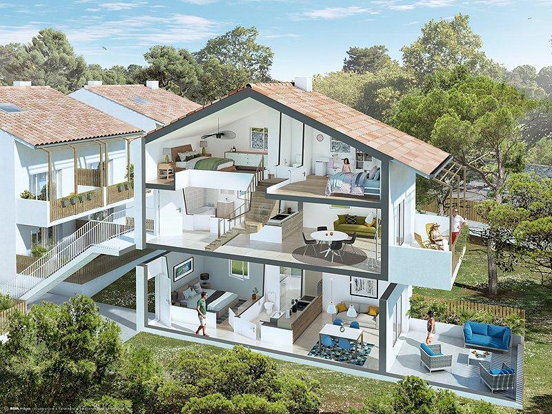 Appartements neufs Châteauneuf-les-martigues - Le Mas Blanc