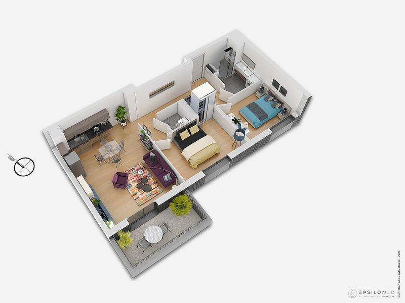 Appartements neufs Saint-herblain - L'héritage