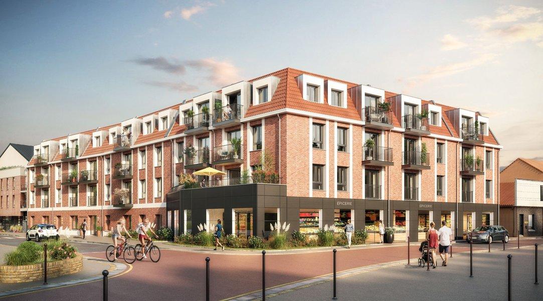 Appartements neufs Emmerin - Emmerin à  5 Min De La Gare D'haubourdin