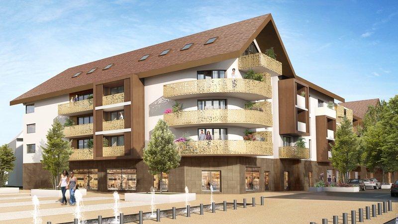 Appartements neufs La Balme-de-sillingy - La Balme-de-sillingy Centre-bourg