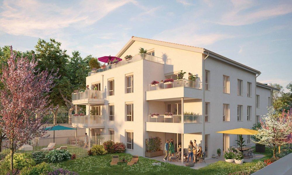 Appartements neufs Saint-priest - Saint-priest Au Coeur Du Quartier Du Village