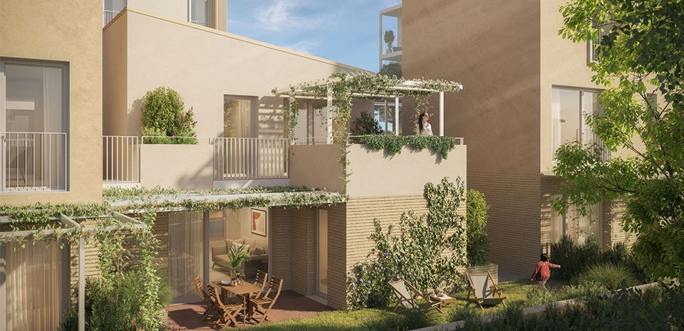 Appartements neufs Vence - Vence à Moins De 10 Min à Pied Du Centre Historique