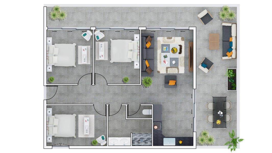 Appartements neufs Saint-paul - Saint-paul à Quelques Pas Du Centre-ville