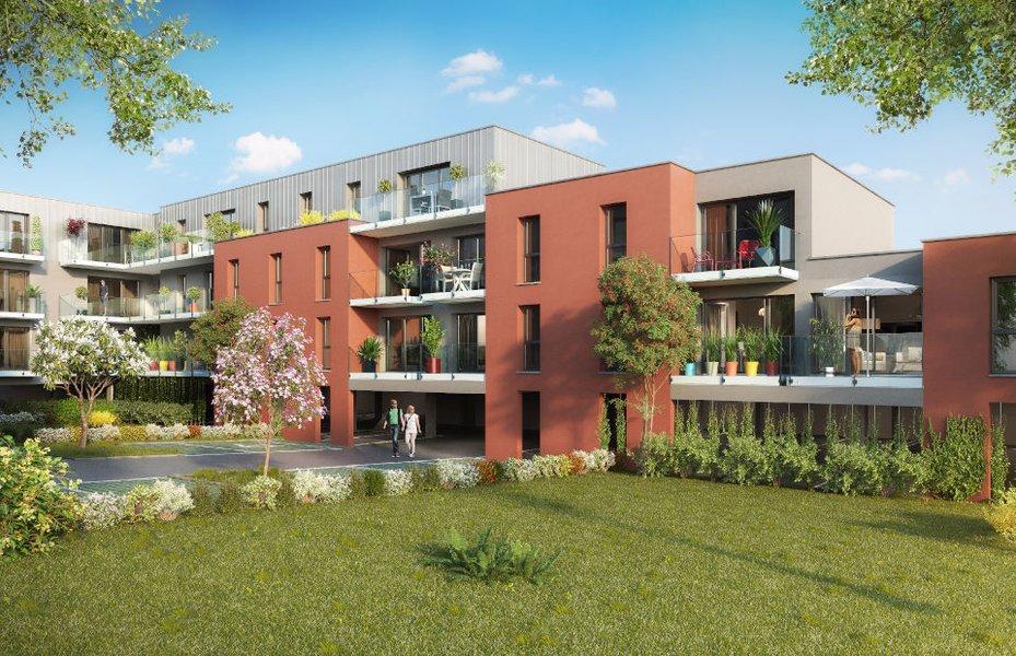 Appartements neufs Arras - Esquisse