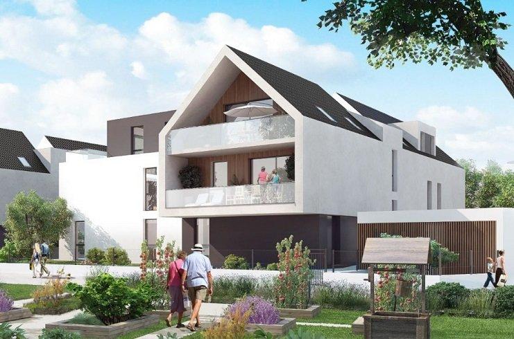 Appartements neufs Strasbourg - Strasbourg Quartier De La Robertsau Tva Réduite