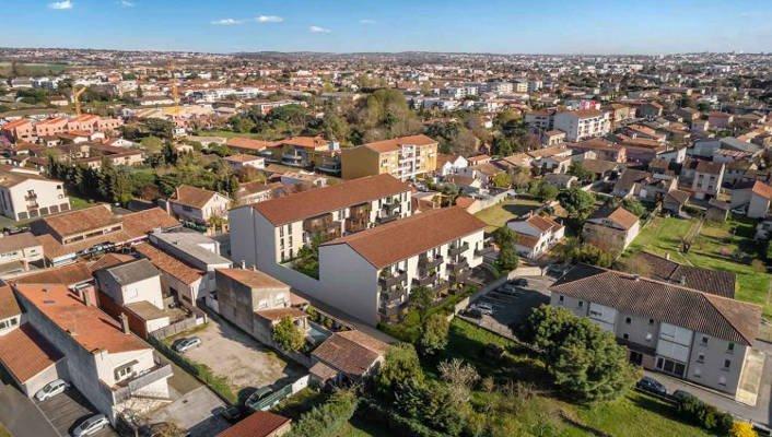 Appartements neufs Aucamville - Aucamville Au Coeur Du Centre