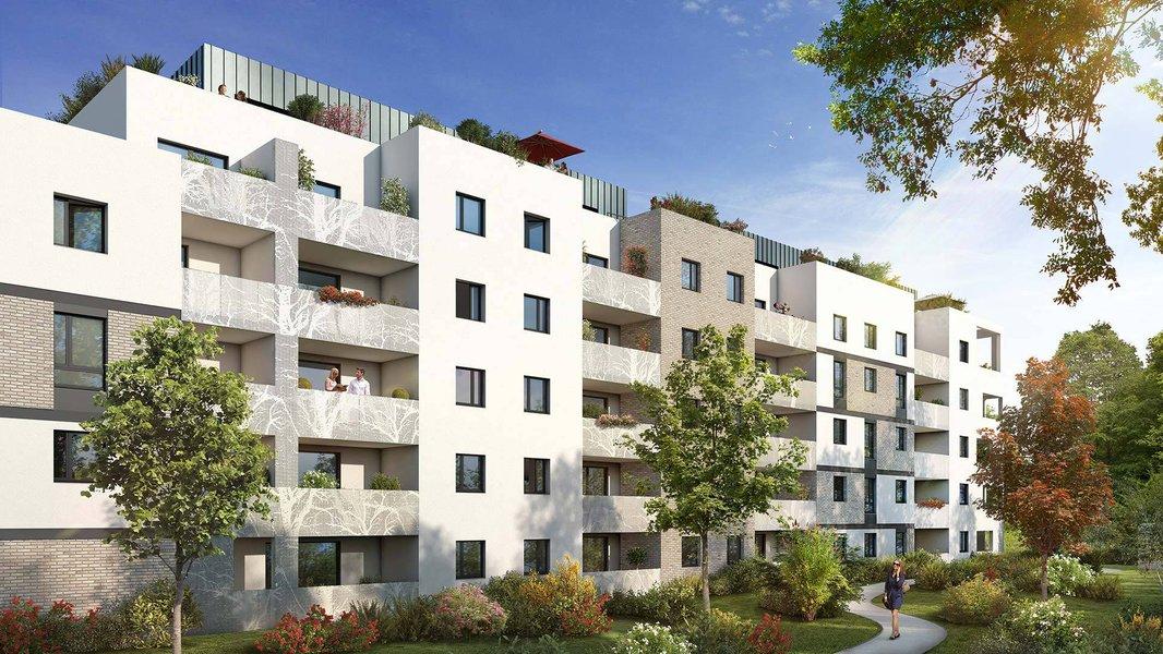 Appartements neufs Toulouse - Toulouse Proche Métro Ligne 2 Patte D'oie