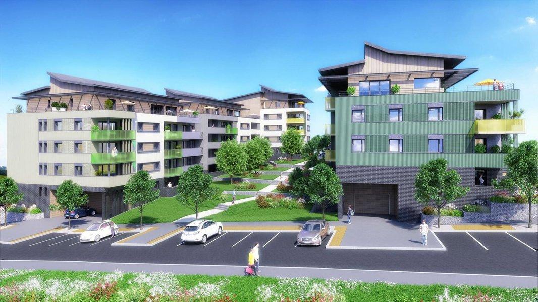 Appartement neuf Saint-julien-en-genevois - Saint-julien-en-genevois à 500 Mètres Du Bus