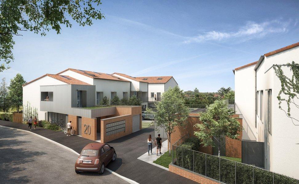 Appartements neufs Toulouse - Toulouse Quartier Pavillonnaire Borderouge