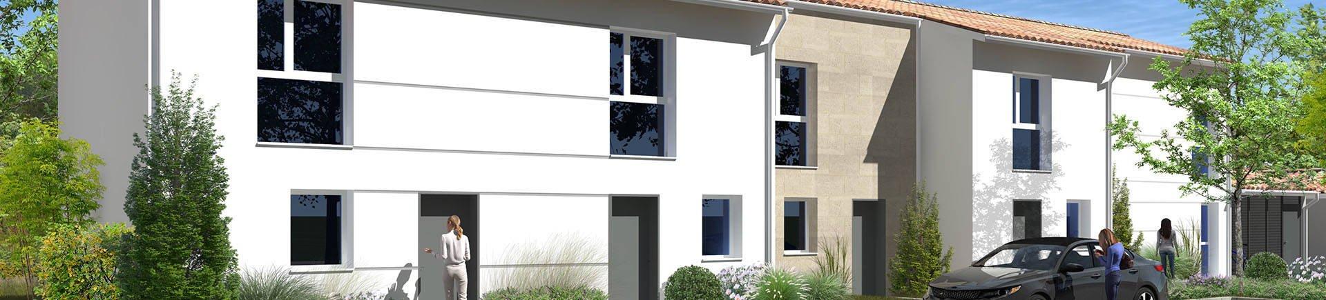 Appartements, maisons neufs Villenave-d'ornon - Villenave D'ornon Coeur Quartier Bocage