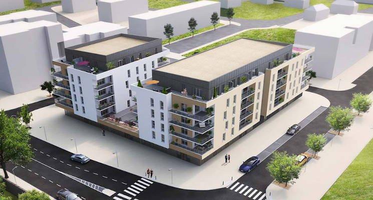 Appartements neufs Caen - Caen Proche Parc Michel D'ornano