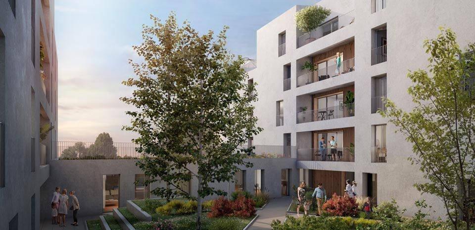 Appartements neufs Bordeaux - Bordeaux Brazza Au Pied De La Future Brazzaligne