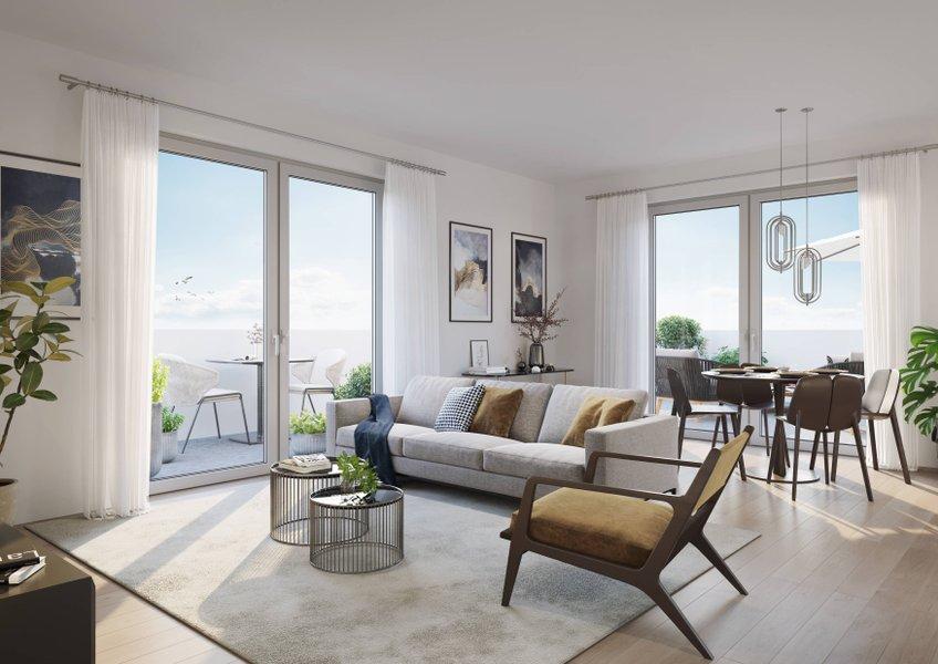 Appartements neufs Courseulles-sur-mer - Courseulles-sur-mer à Deux Pas Du Port