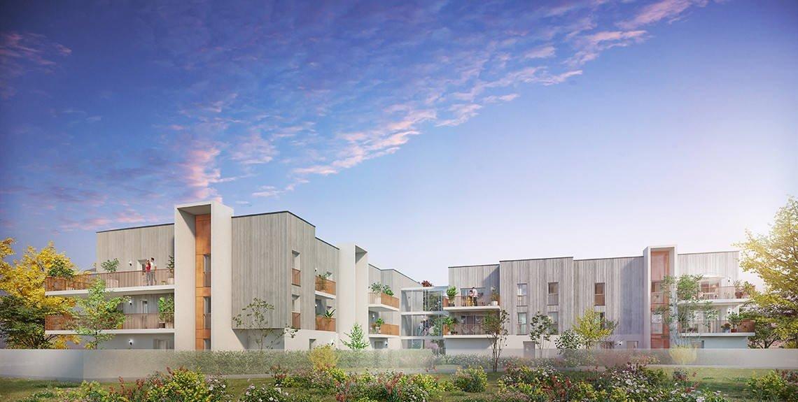 Appartements neufs Bordeaux - Bordeaux Caudéran 12min à Pied Du Parc Bordelais