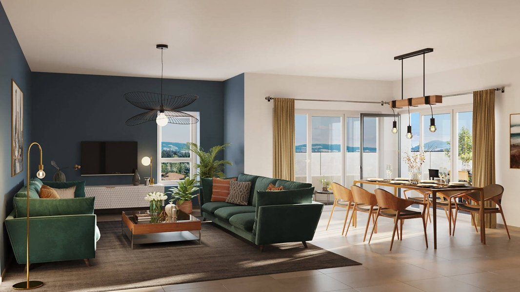 Appartements neufs Annecy - Meythet Centre-ville