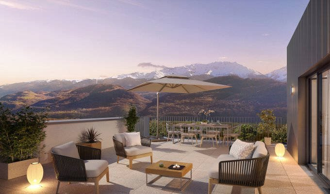 Appartements neufs Conches-en-ouche - Crolles Proche Gare Ter