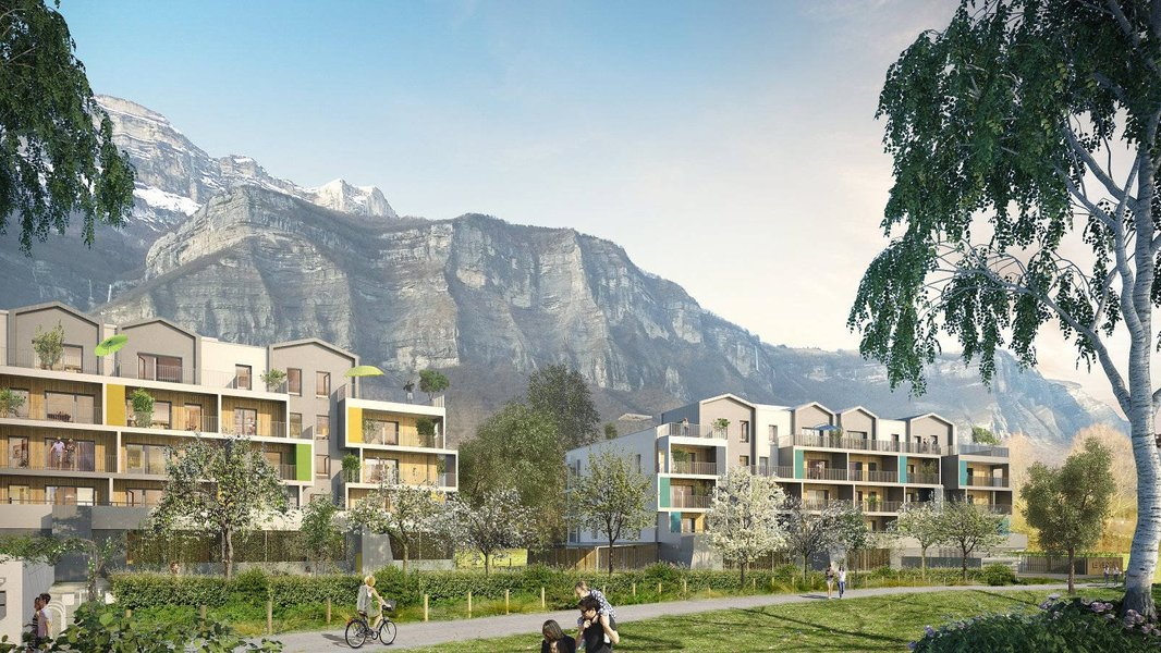 Appartements neufs Cholet - Crolles Proche Gare Ter