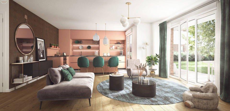 Appartements neufs La Rochette - Dammarie-les-lys Au Coeur Du Parc Du Manoir