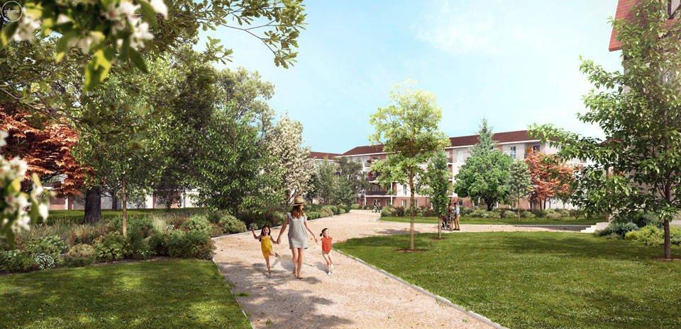 Appartements neufs Dammarie-les-lys - Dammarie-les-lys Au Coeur Du Parc Du Manoir
