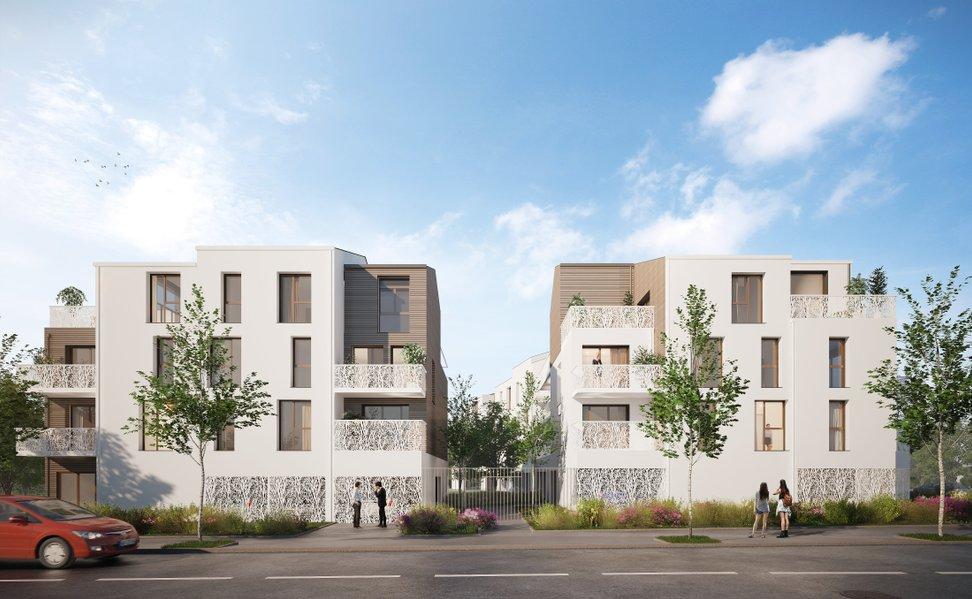 Appartements neufs Saint-herblain - La Résidence Le Carré Silva