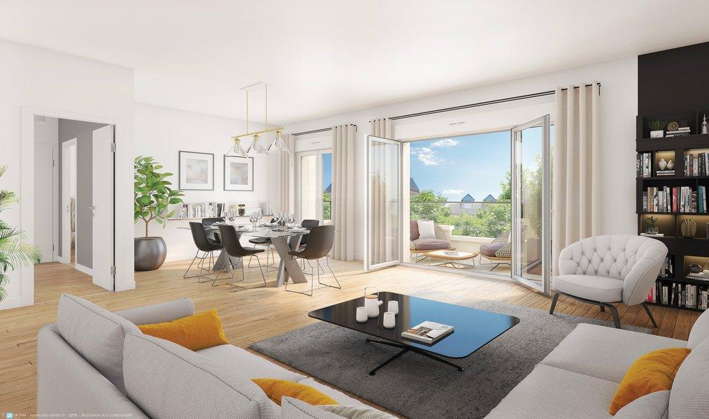 Appartement neuf Arcueil - L'avenue
