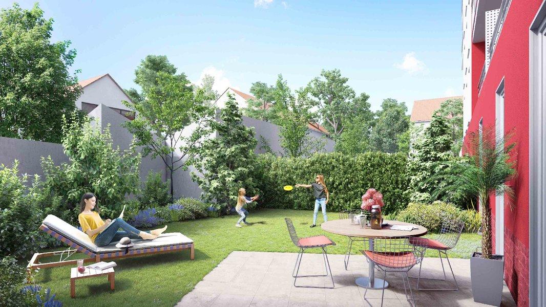 Appartements neufs Neuilly-sur-marne - Côté Jardin