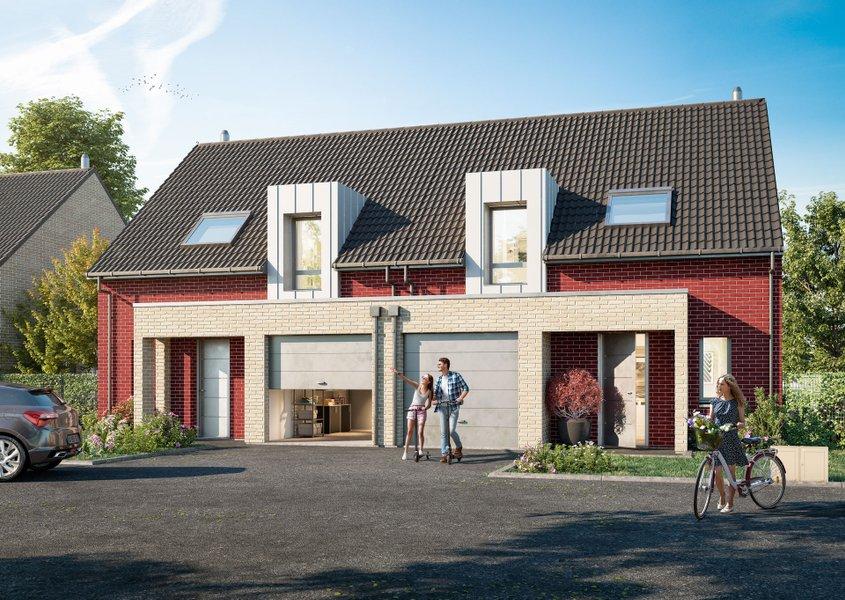 Maisons neuves Lesquin - Les Cottages Du Parc