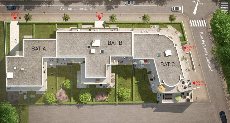 Maisons et appartements neufs Châtenay-malabry - Villa Chateaubriand