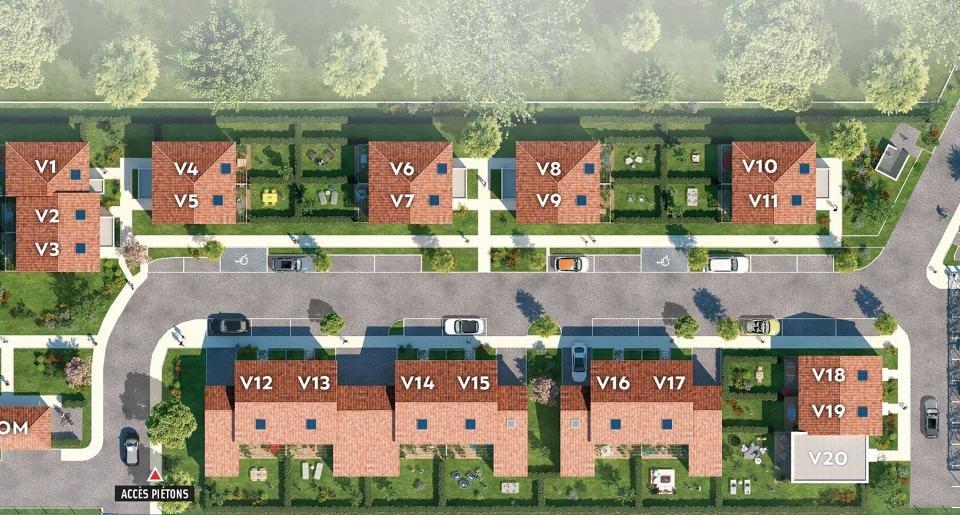 Maisons, appartements neufs Pibrac - Pastura