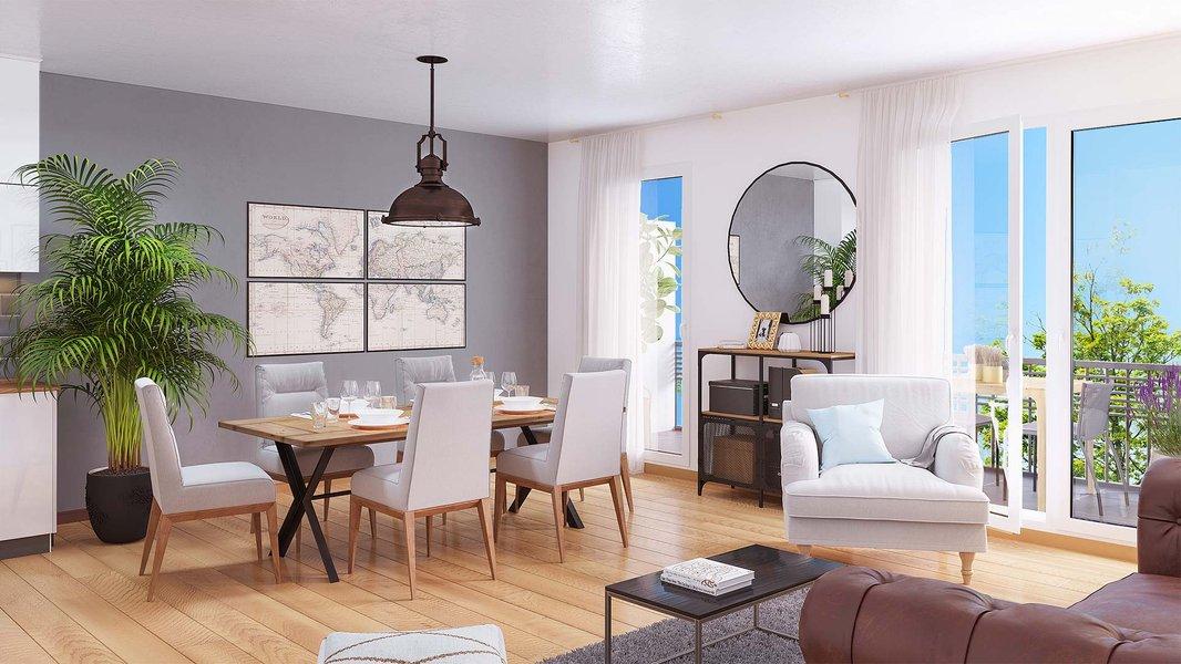Appartements neufs Paray-vieille-poste - Côté Paray