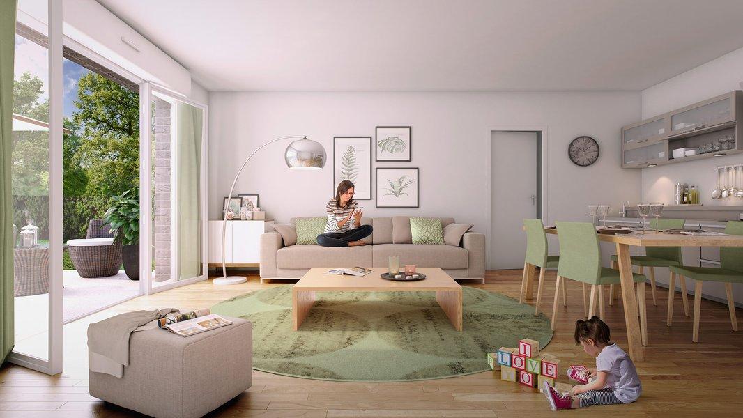 Appartement neuf Lisses - Les Belles Allées