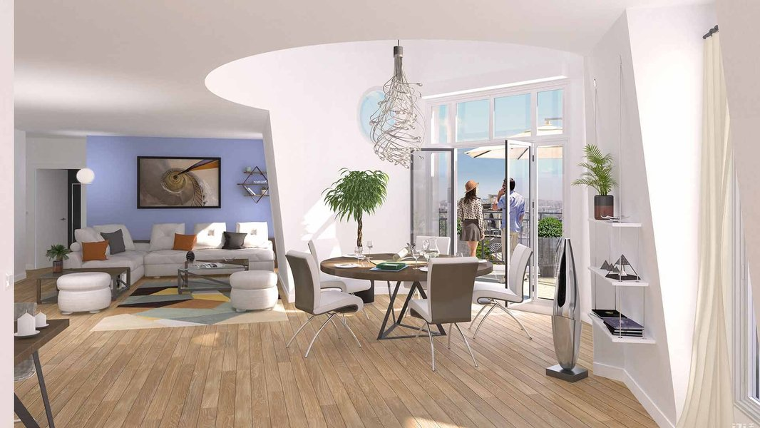 Appartements neufs Puteaux - Apogée