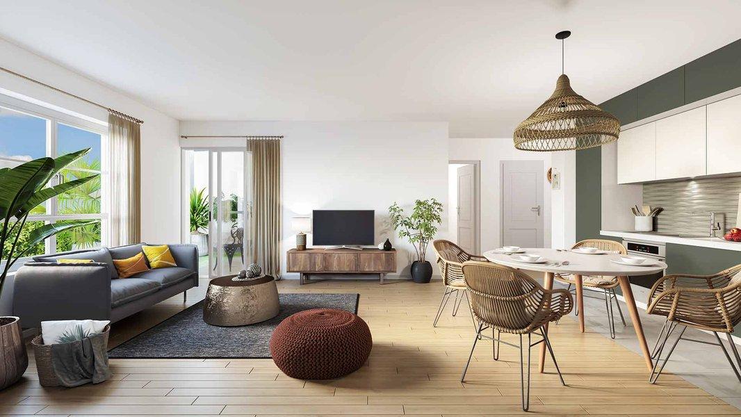 Appartements neufs Pontault-combault - Les Jardins De La Fontaine Lucas