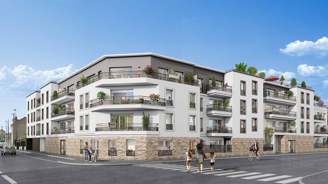 Appartements neufs Sannois - Graphite