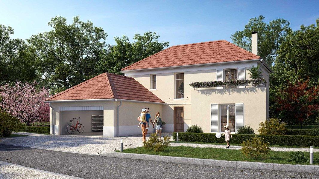 Maisons neuves Saint-prix - Villas & Jardins