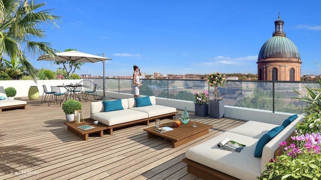 Appartements neufs Toulouse - Cour Du Dôme