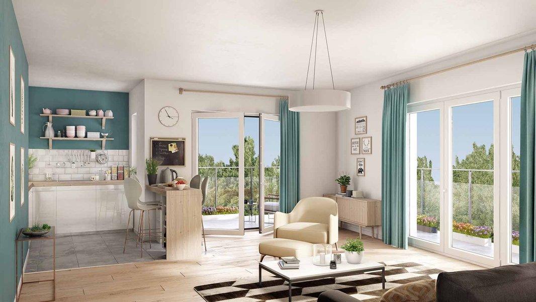 Appartements, terrains Logements neufs Darnétal - Naturéa