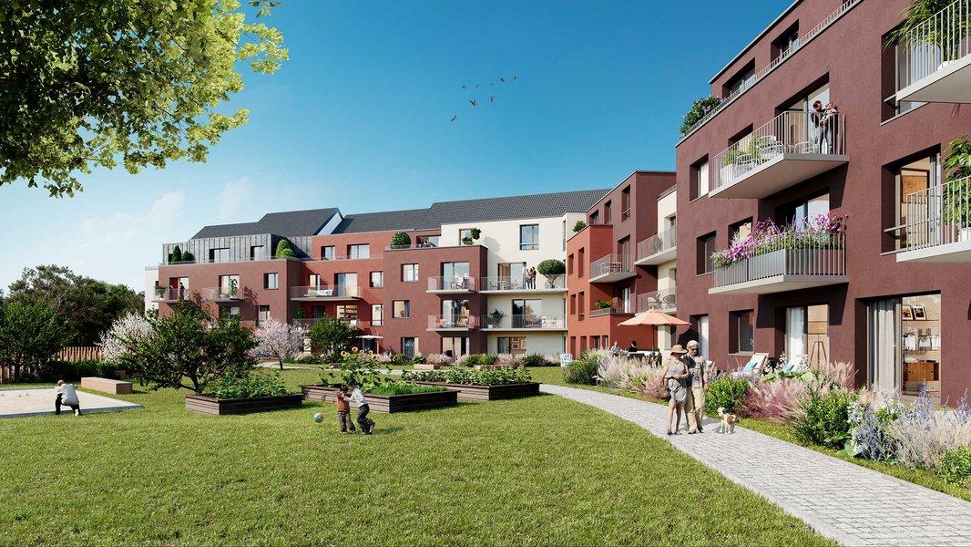 Appartements neufs Lys-lez-lannoy - Le Vert Pré
