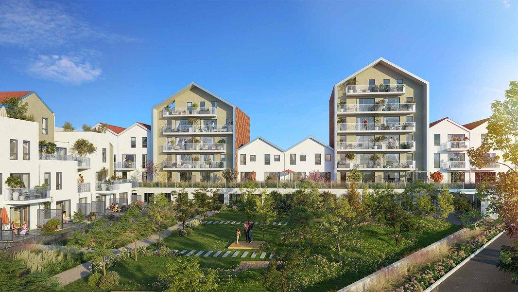 Appartements neufs Dijon - Reflets Jardin