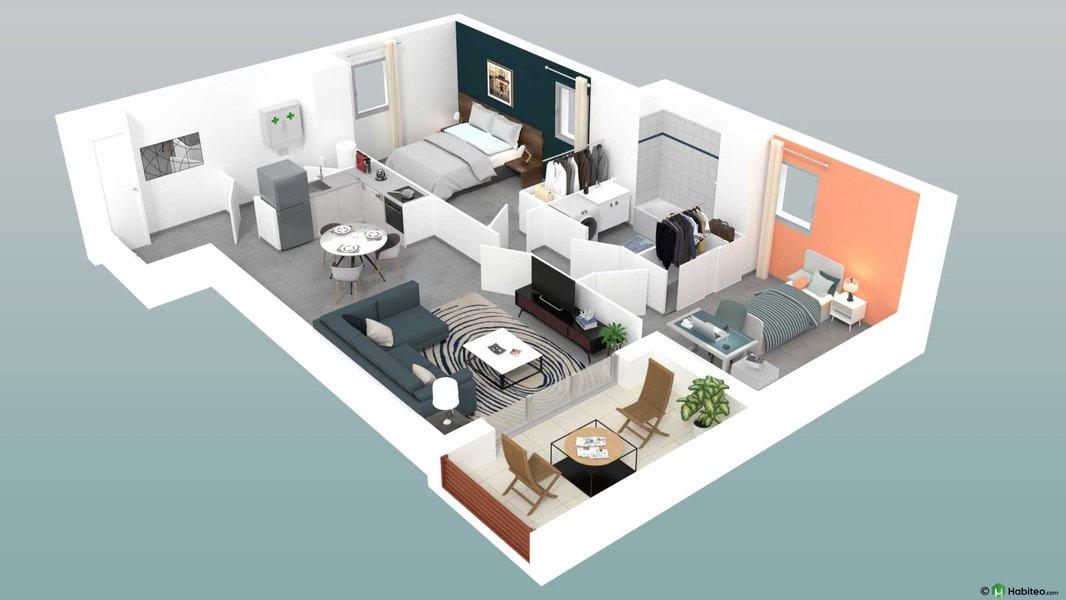 Appartement neuf Marseille - Les Collines De Loubets