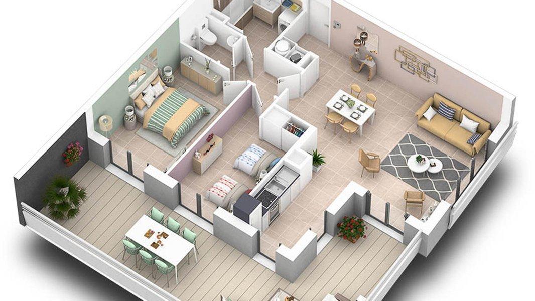 Appartements neufs Villeneuve-loubet - Pearl Beach