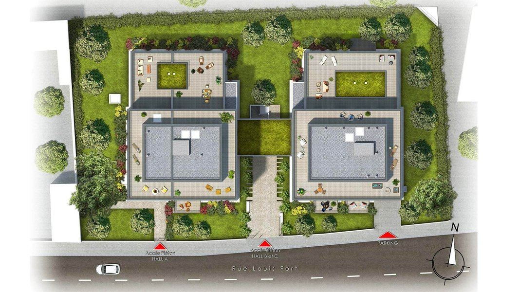 Appartement neuf Villeurbanne - Symetrik