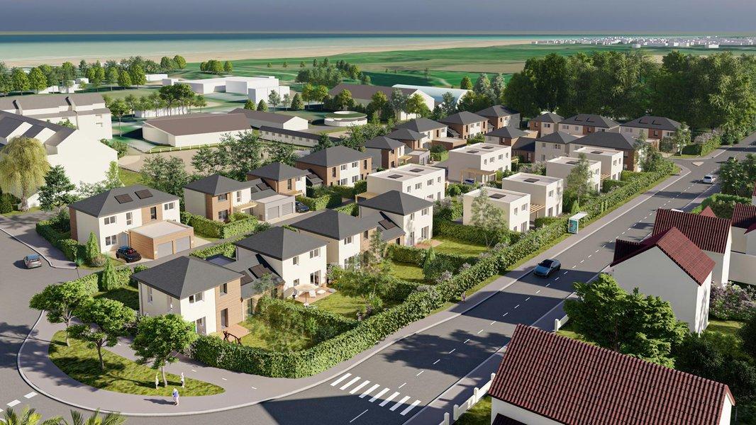 Maisons neuves Courseulles-sur-mer - Rivage