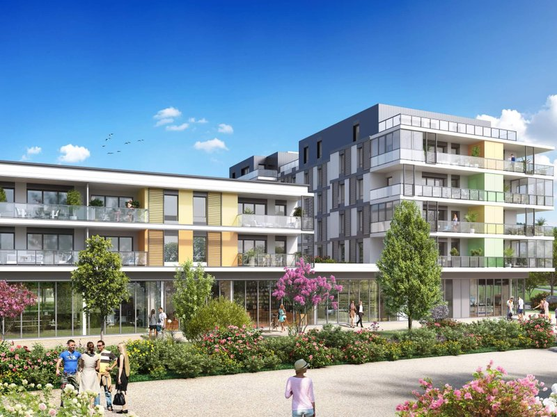 Appartements neufs Saint-genis-pouilly - Connectis 2 - Emergence