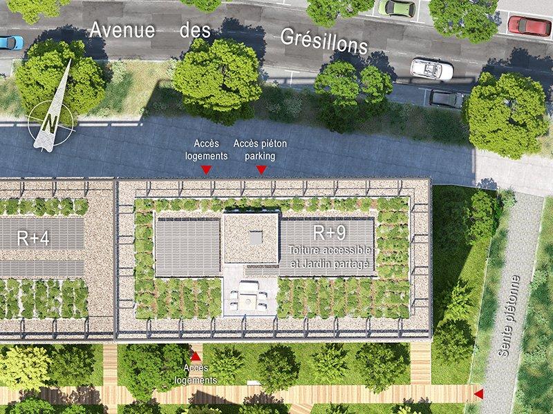 Appartements neufs Asnières-sur-seine - Black Shine