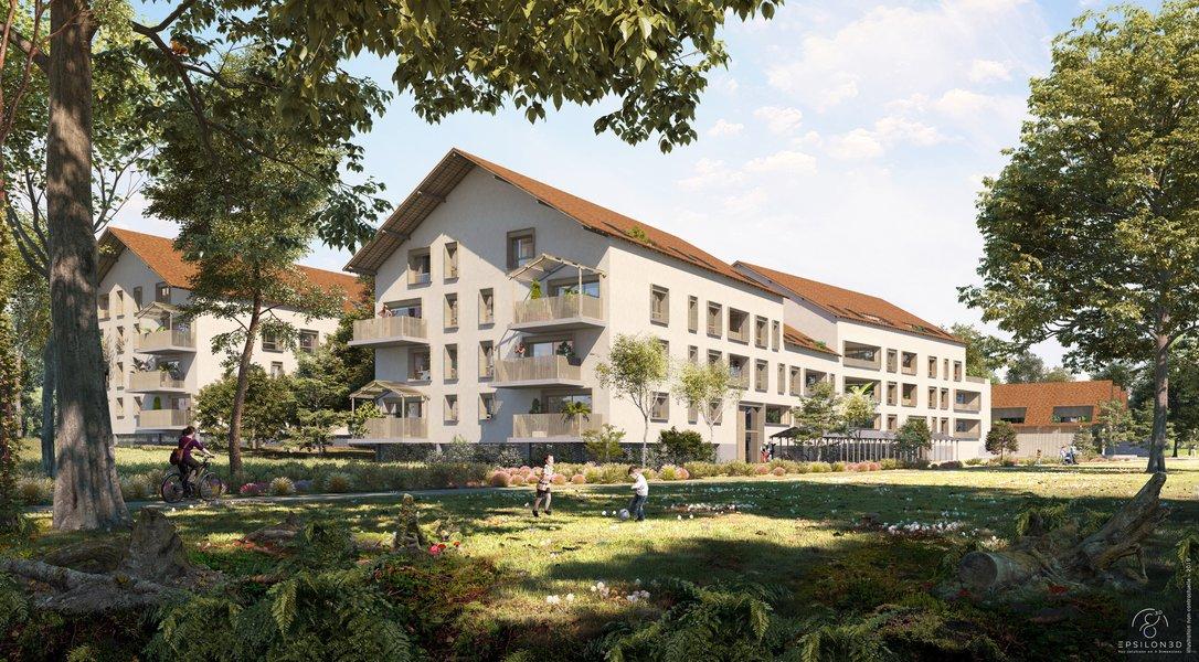 Maisons, appartements neufs Tours - Parc' Coeur