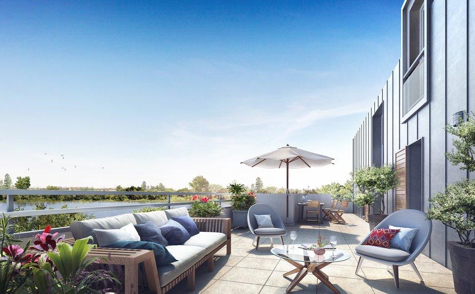 Maisons et appartements neufs Villeneuve-le-roi - Parc En Seine