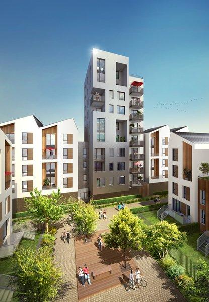 Appartements neufs Bordeaux - Villapollonia